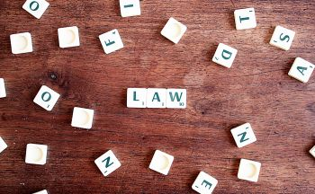 Law Scrabble tile